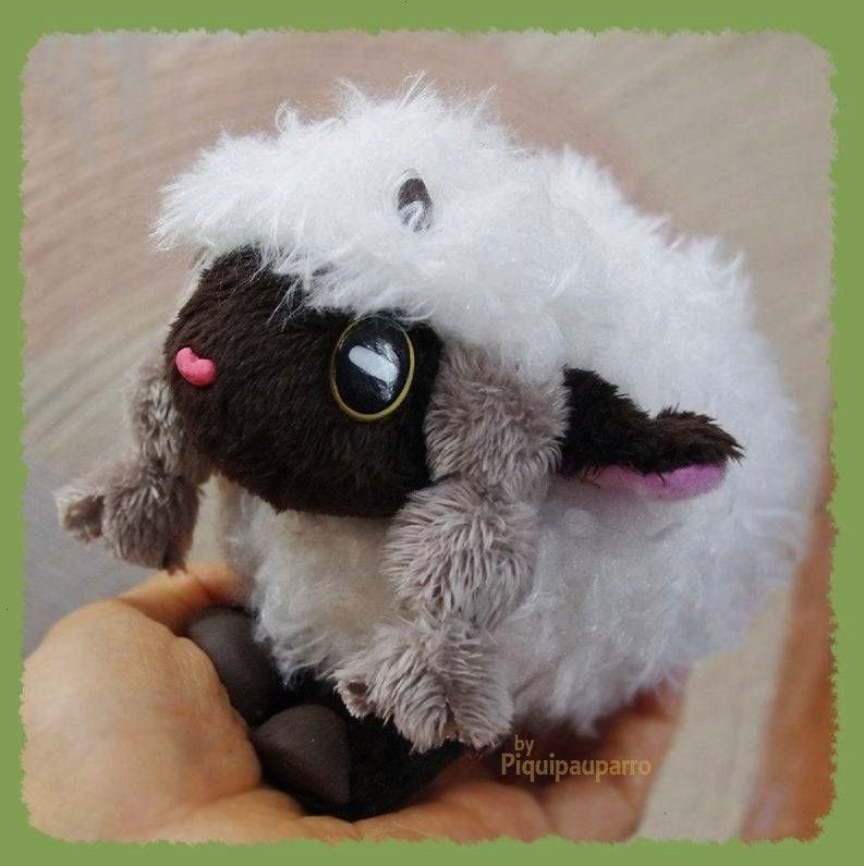 Plush made by Piquipauparro -Wooloo Plush made by Piquipauparro -  (Ad eBay Url) Pokemon Center O