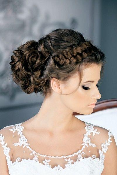 Peinado Recogido Para Boda Lindos 2 Jpg 400 600 Estilos De Peinado Para Boda Trenzas Para Novias Peinados Elegantes