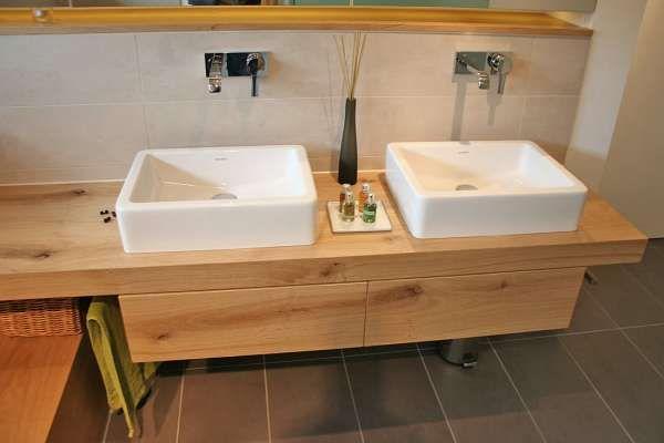 Waschtische und Waschtröge   Badmöbel vom Schreiner in ...