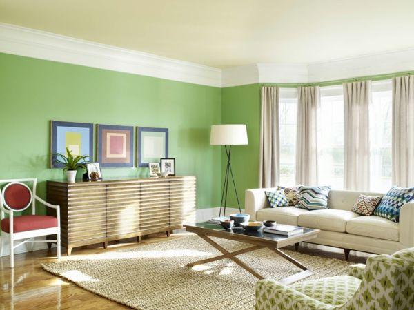 Klapptisch Designs - Funktionalität und Stil in der Wohnung - wohnzimmer einrichten grun