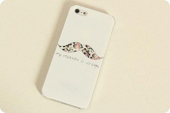 For iphone case iphone5 case iphone4 case beard case by Purplecase, $9.99