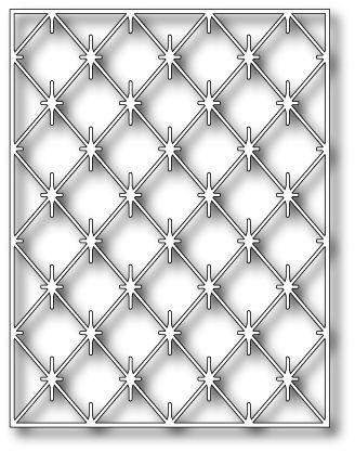 Poppy Stamps Die - Diamond Background