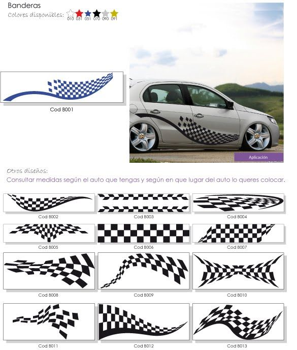 Franjas Para Autos Tuning Imagui Logotipos Pinterest Cars Motorcycle Tank Y Stickers
