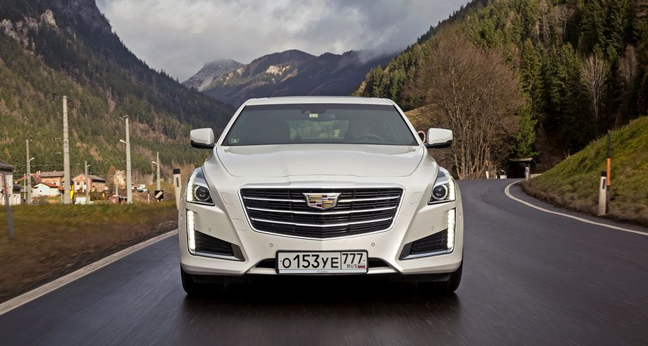 Режем налоги снедообновлённым седаном Cadillac CTS — тест-драйв, обзор Cadillac