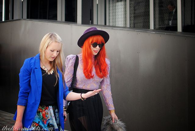 LFW 2013 Day 5 Streetstyle (20) by Hearabouts, via Flickr #streetstyle #lfw
