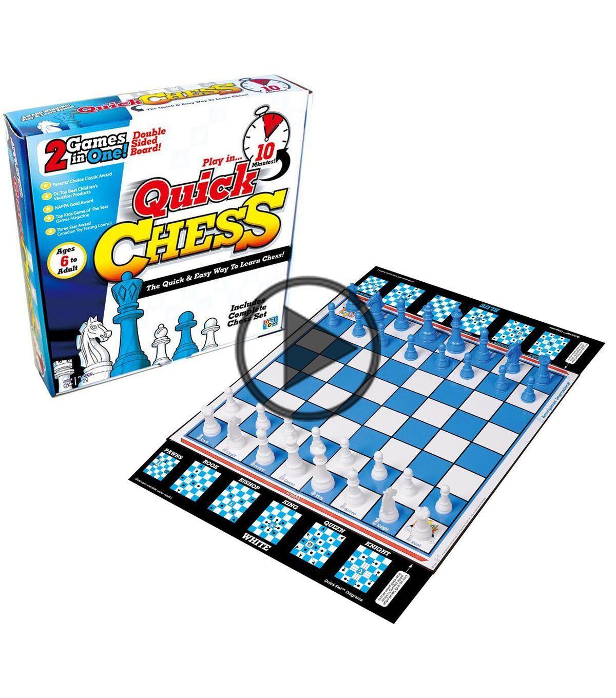 Getta1Games Quick Chess opdrachtenspel in 2020 Quick