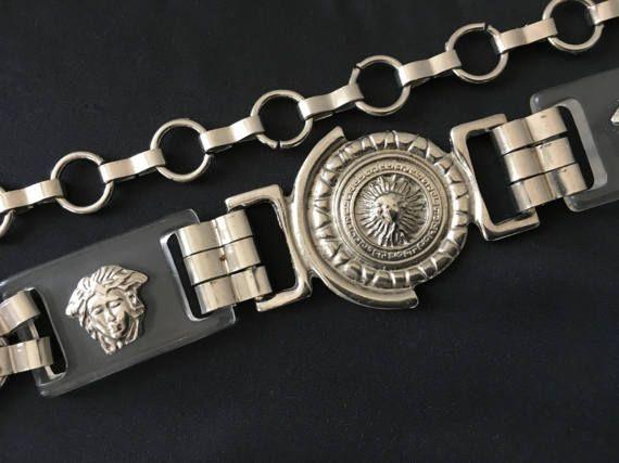 ceinture à double boucle en cuir bohème en métal rétro pour femme LB