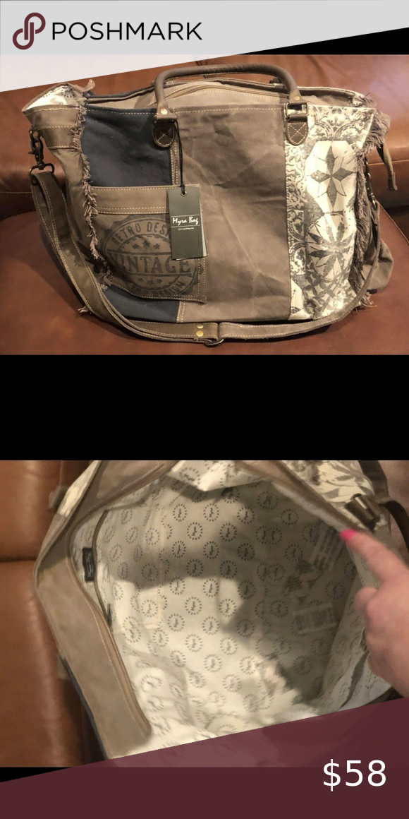 Myra Small Weekender Or Overnight Bag New With Tags Enough For One Night Great Gift Myra Bag Bags Travel Bags In 2020 Small Weekender Bags Overnight Bag Poshmark makes shopping fun, affordable & easy! pinterest