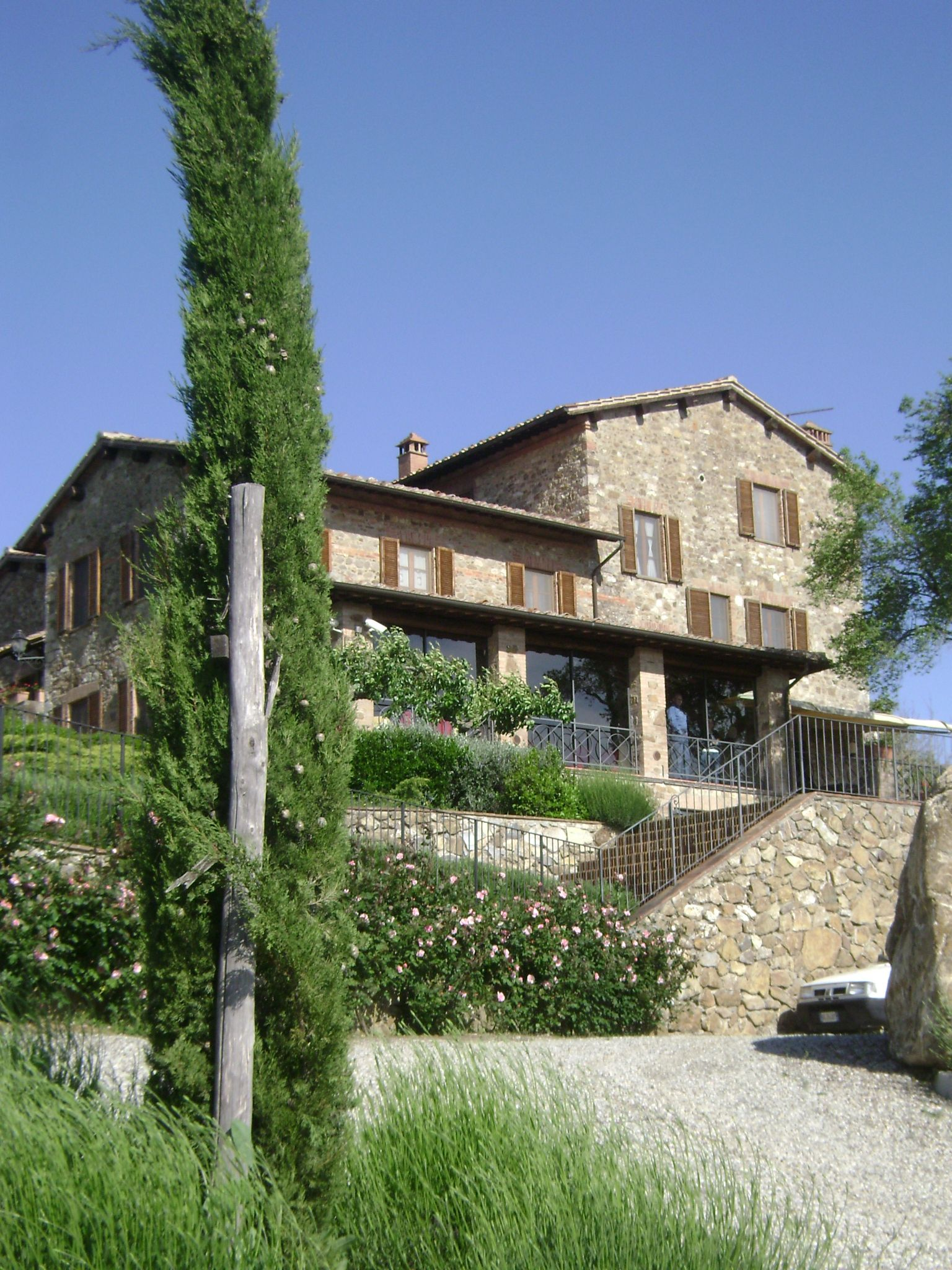 Seravalle in Chianti (Vagliagli) lived here for a week