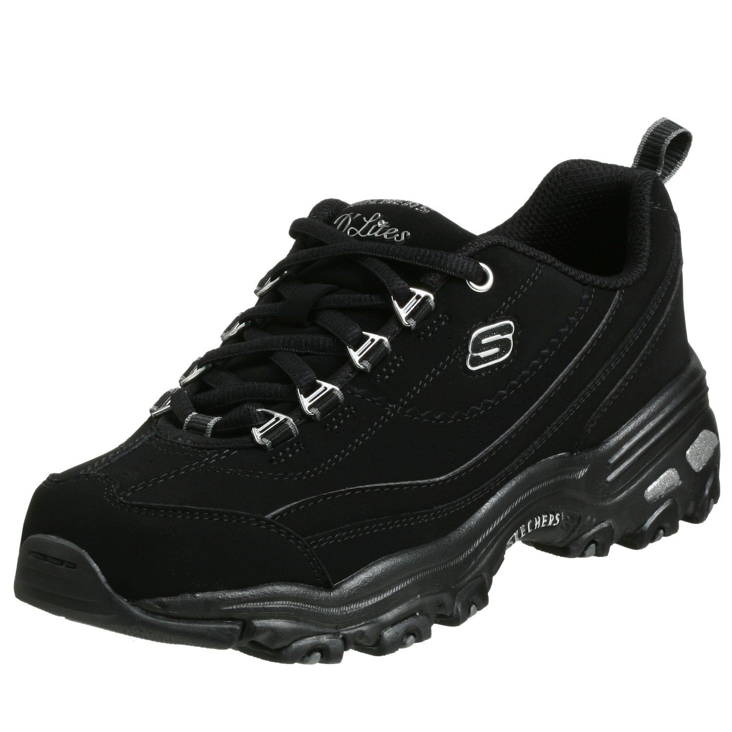 black skechers womens shoes