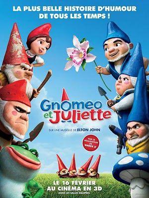 Gnomeo and Juliette.