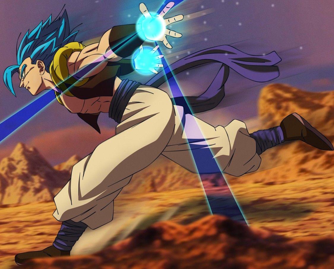Gogeta SSJ Blue Anime dragon ball, Dragon ball