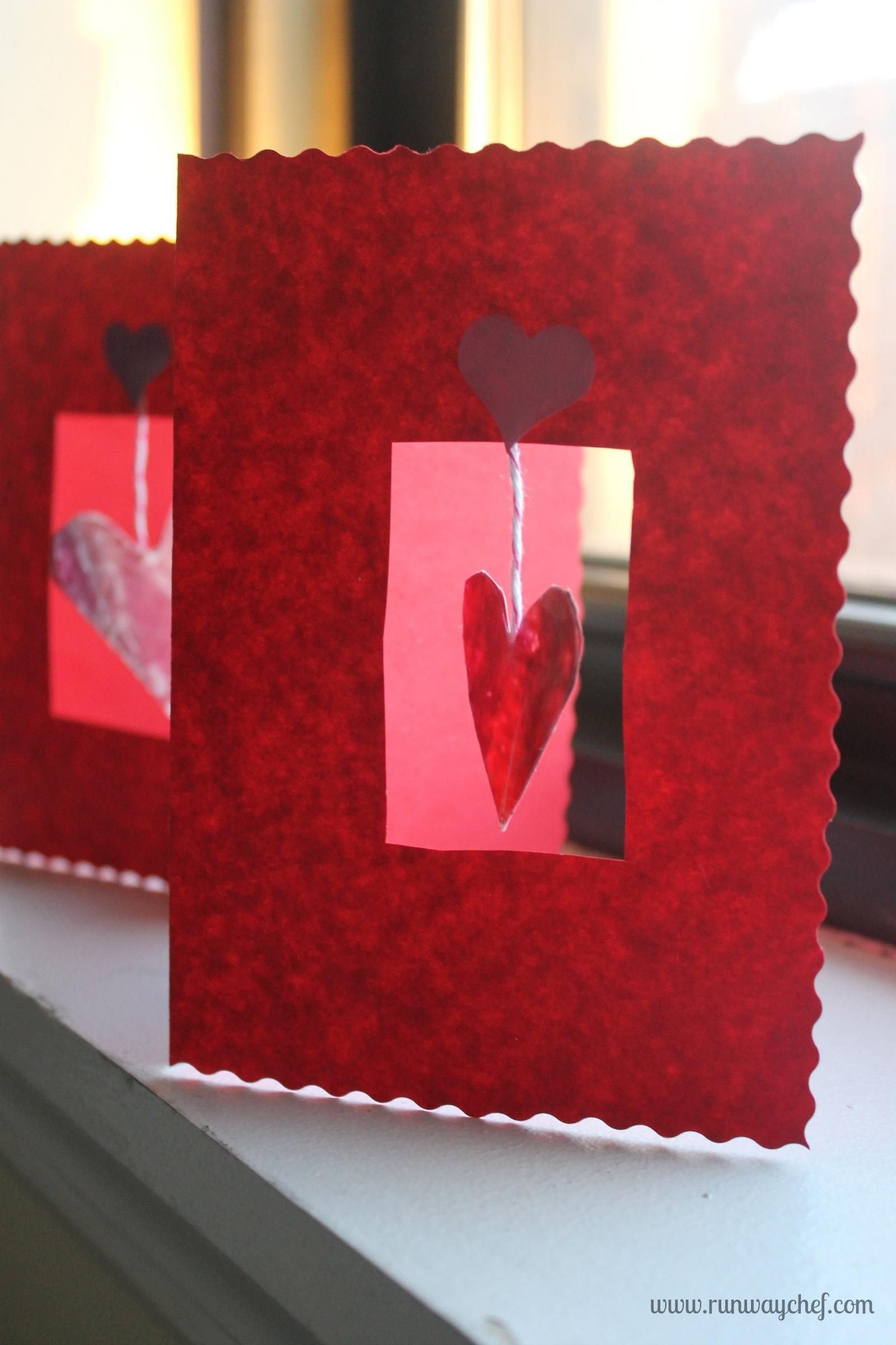 53 Easy To Make Diy Christmas Card Ideas Diy Valentines Cards