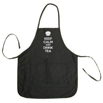Keep Calm and Drink Tea Apron - Tea Clothing