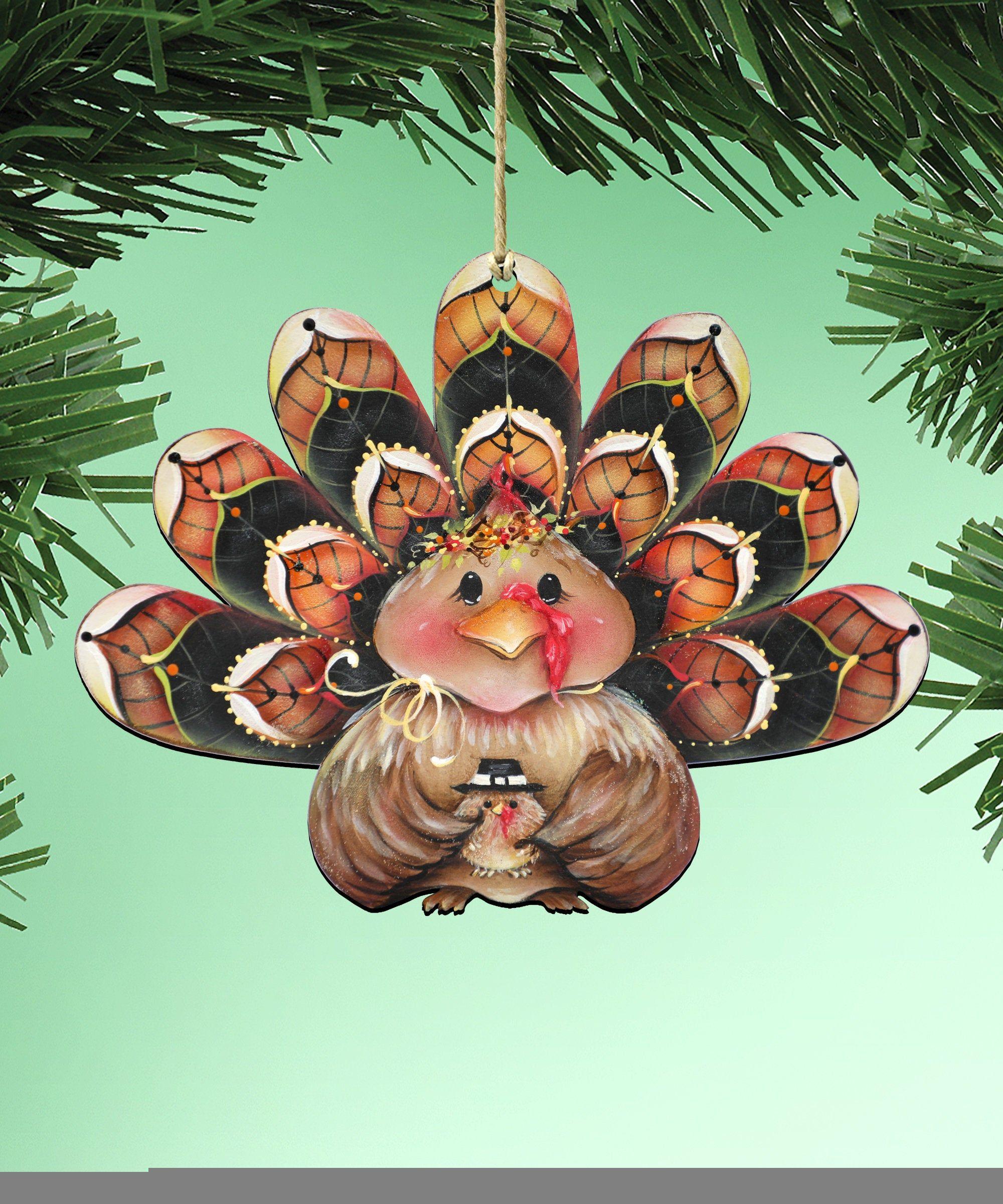 Turkey Ornament Christmas ornaments Turkey Holiday