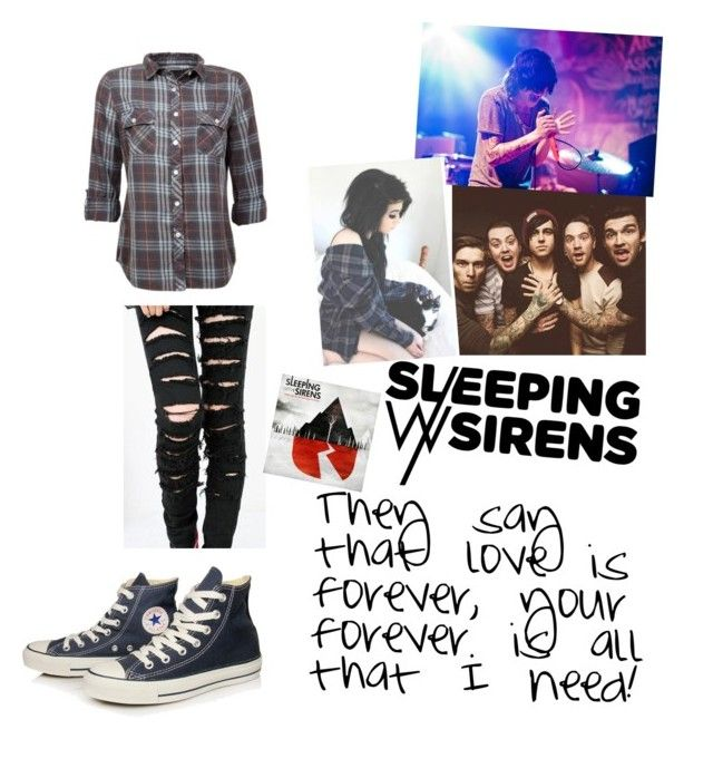 """""""If I'm James Dean, Then You're Audrey Hepburn"""" by fallen000 ❤ liked on Polyvore featuring Converse"""