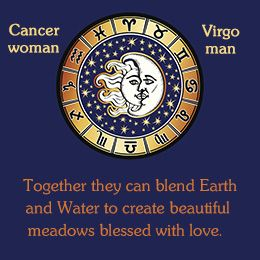Cancer woman compatible with virgo man