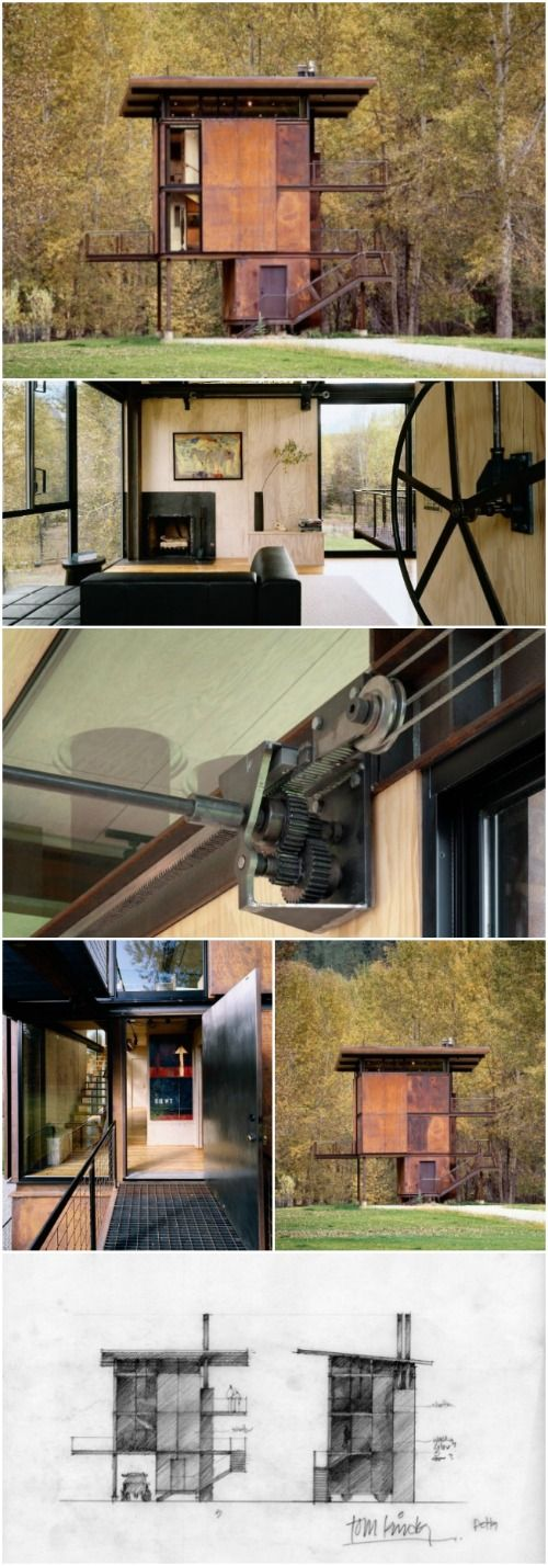 Great Enter The Delta Shelter: 1,000 Square Feet Of Architectural Heaven    Smallest House, Square Feet And Shelter