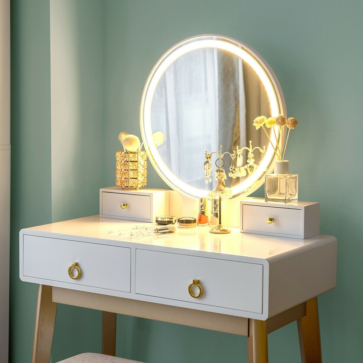 27+ Jewelry and makeup vanity table info