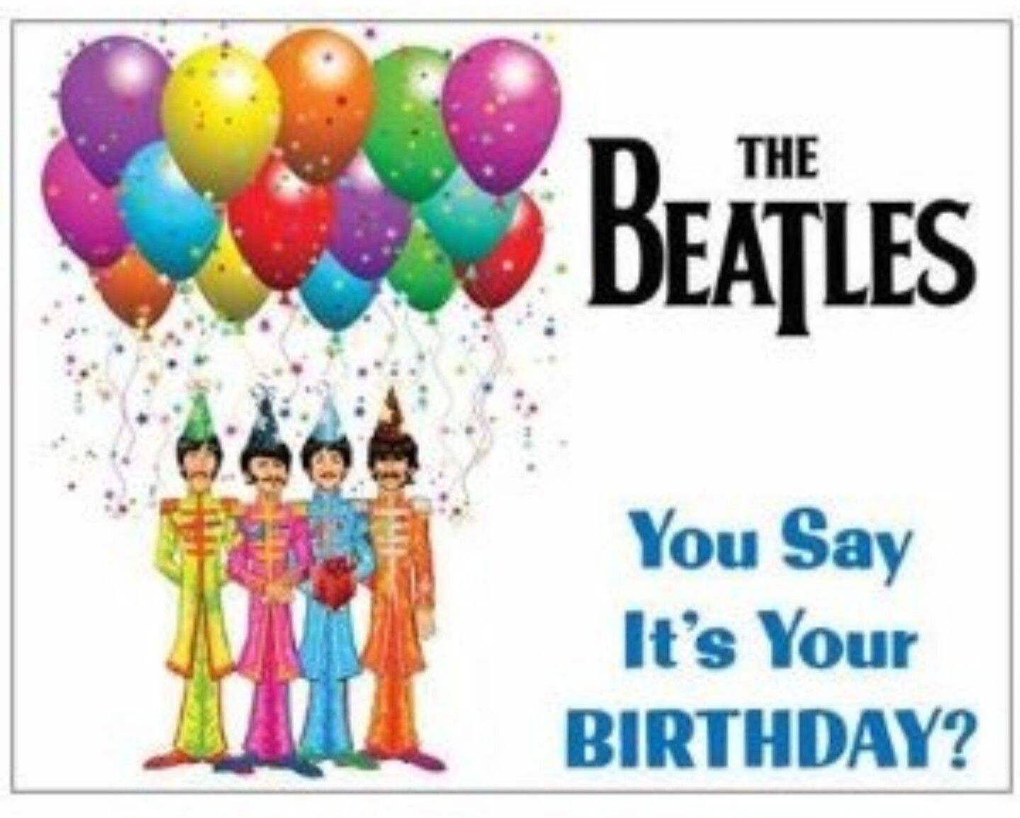 Pin by Toni Scavo on for greg Pinterest – Beatles Birthday Cards