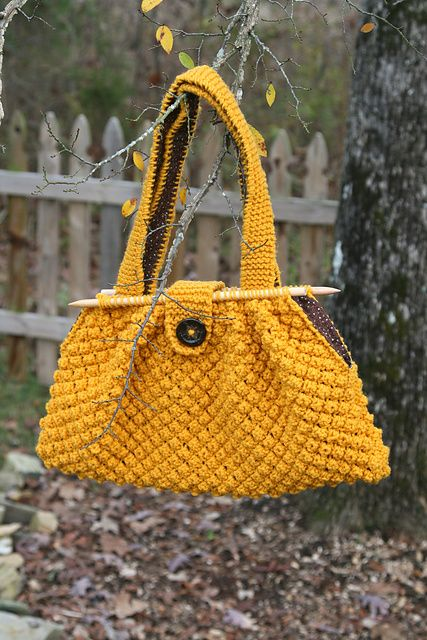 Knitting Needle Knitting Bag Pattern By Pam Allen Crafts