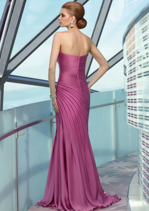 Mori Lee Silhouette Fit and Flare Neckline Strapless, Sweetheart ...