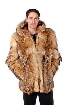 Mens Coyote Jackets,Mens Furs sold at MAM! | Fur Jackets / Parkas ...