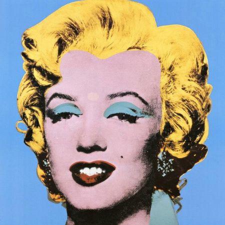 Andy Warhol a Palazzo Reale, Marilyn Monroe Blue Shot