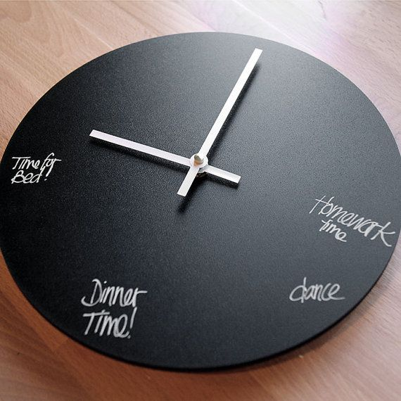 Wait This Is So Great For Visual Reminders Of How Much Time You Have Left Before You Need To Go Somewhere Or Do Something Clock Wall Clock Dry Erase