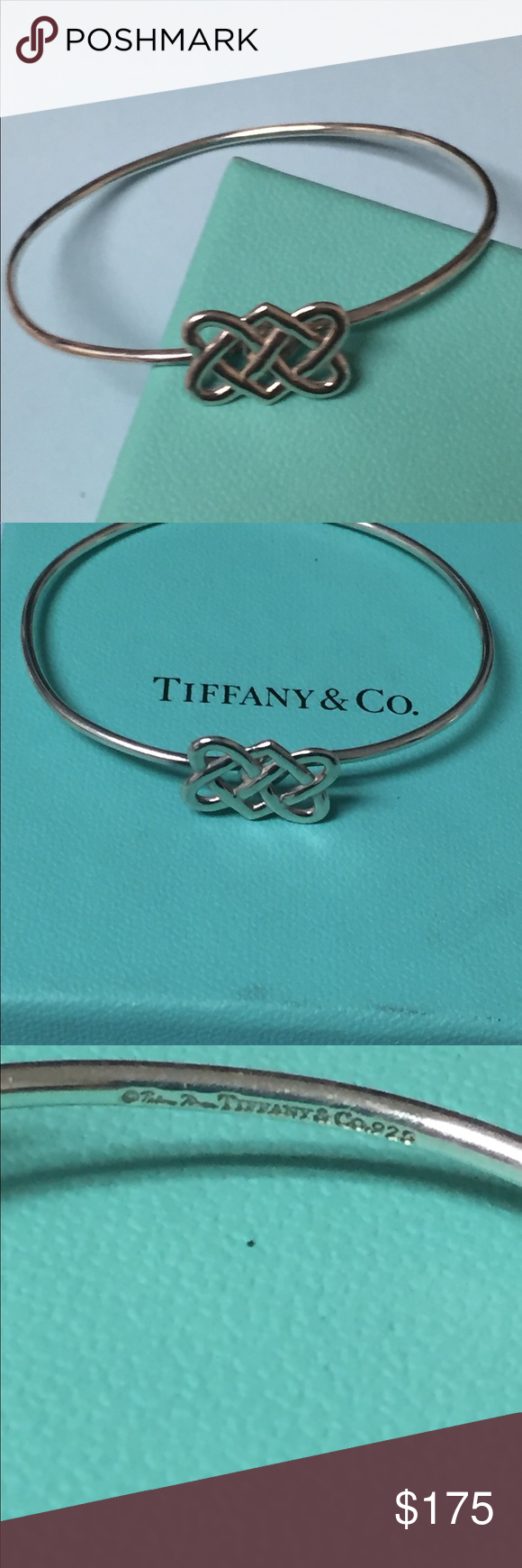 2f0e13da8 💎💎T&C Paloma Picasso Celtic Love Knot Bracelet💎 💎💎retired Sterling  Silver Paloma Picasso Celtic Love Knot bangle bracelet. 100% authentic.