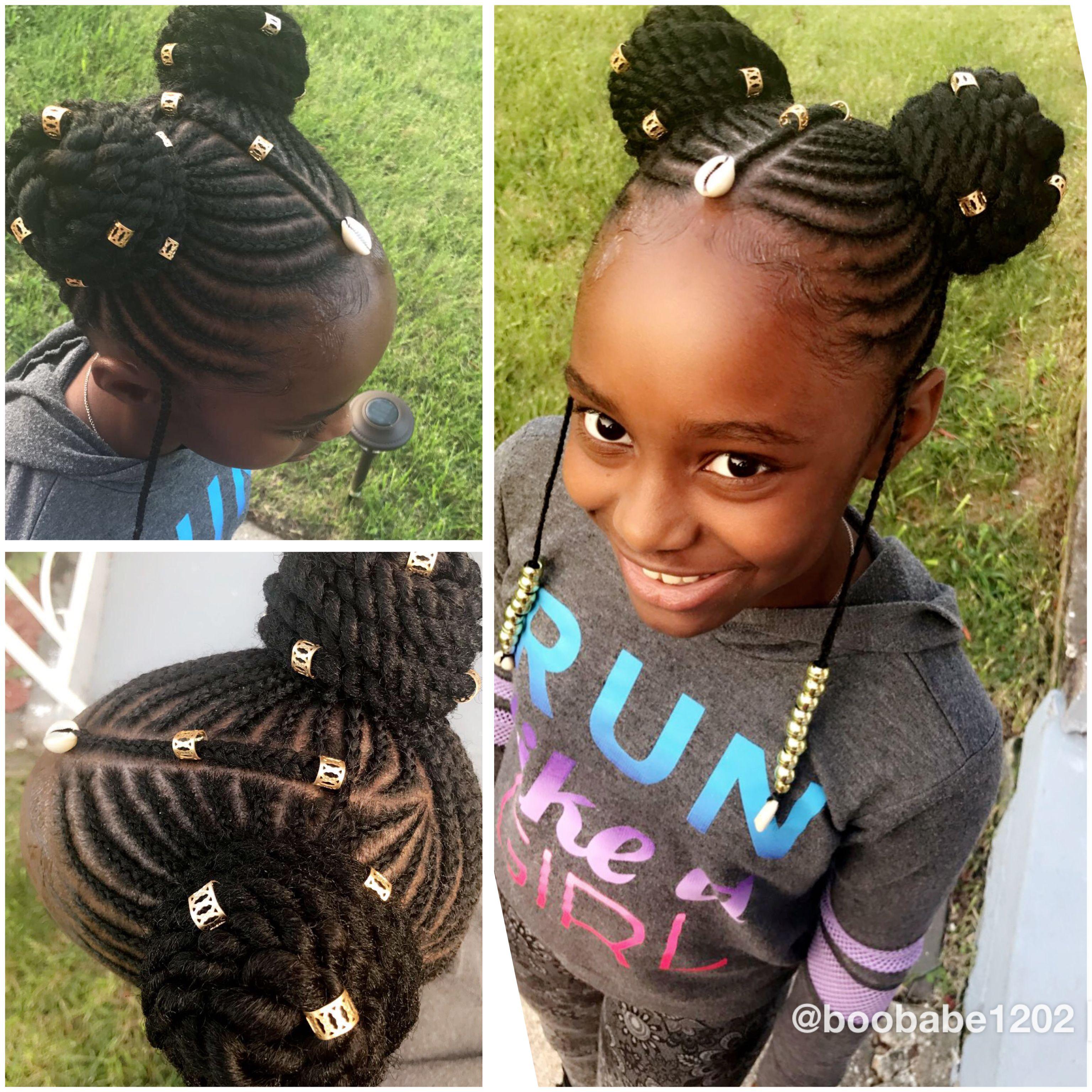 Pin by Nelsheika Wallace on Kids braids  Pinterest  Kid