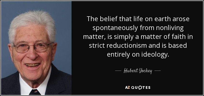Oppenheimer Quote Hubert Yockey Is A Physicist Who Worked Under Robert Oppenheimer And .
