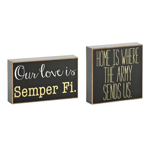 Military Love Wooden Plaques Furniture Projects