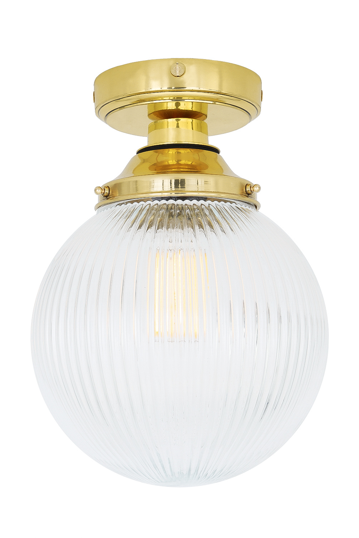 Cherith Globe Ceiling Light Ip44 In 2020 Globe Ceiling Light Ceiling Lights Glass Ceiling Lights