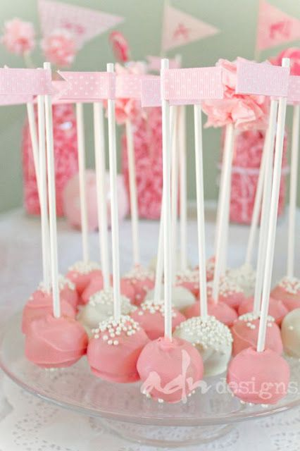 cake pop flag toppers.