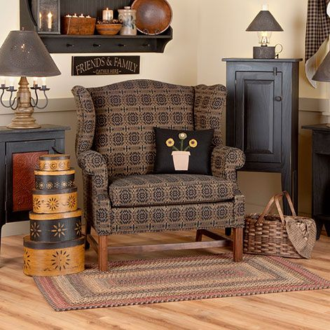 Grandmotheru0027s Wingback Chair | Irvinu0027s Country Tinware