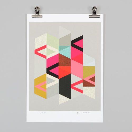 Endemic World Modern Graphic Posters Geometric Art Modern Artwork Art Prints
