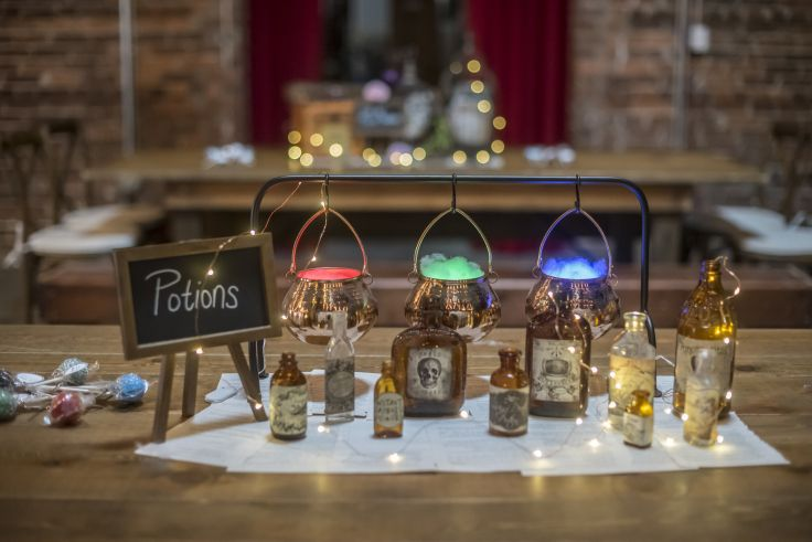 Harry Potter Wedding Magical Centerpieces Potions
