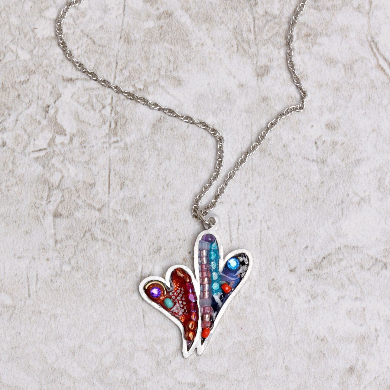 Hearts in Tango Necklace