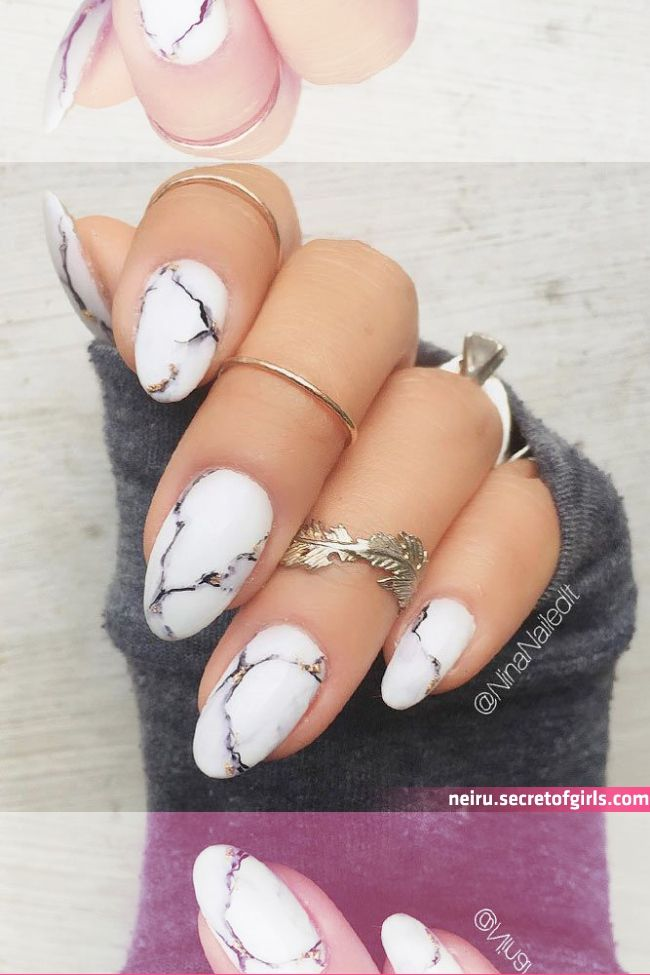 Photo of Marble Nails: Easy Way To Create Trendy Manicure | Marble acrylic nails, Marble …