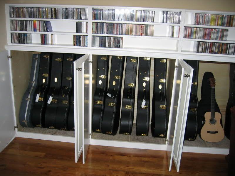 Love This Guitar Storage Cabinet, Guitar Storage Cabinet