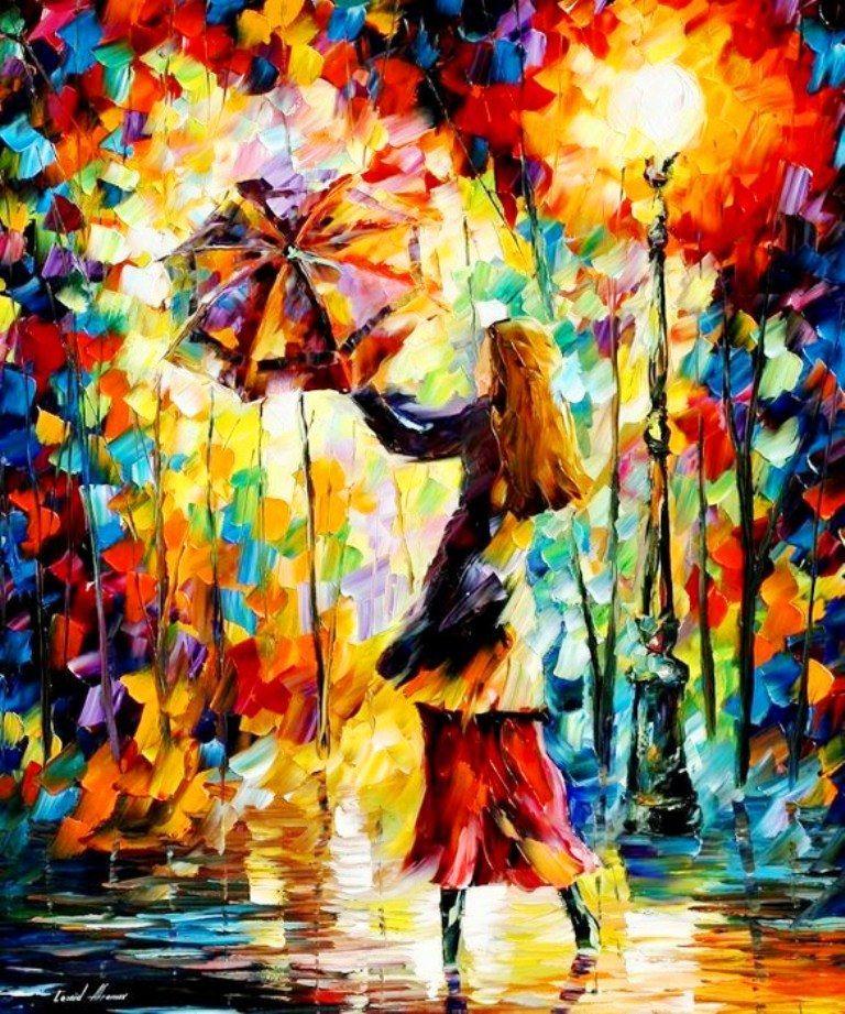 paisajes+pintura+con+espatula+al+oleo,+mujer+con+sombrilla.jpg (768×921)