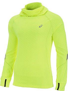 asics running hoodie