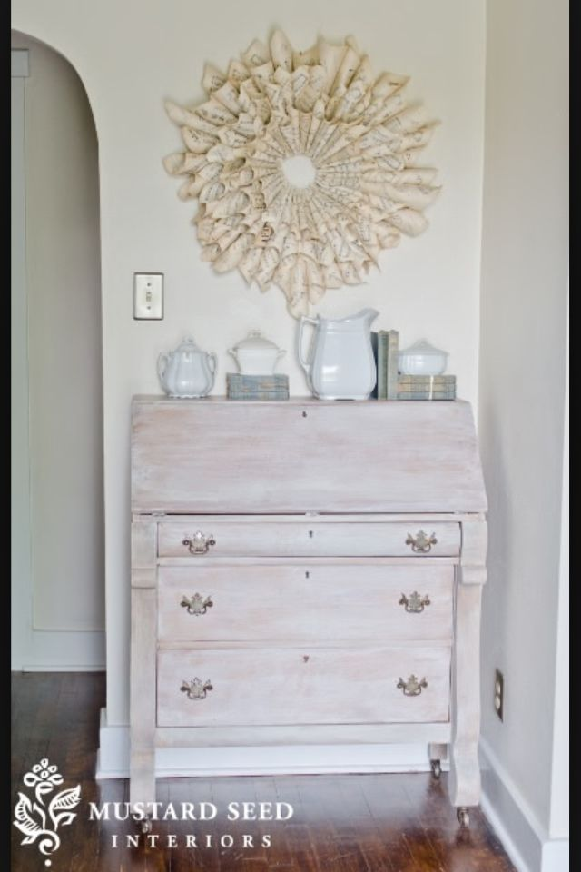 Weathered Furniture · Whitewash. Distressed ...