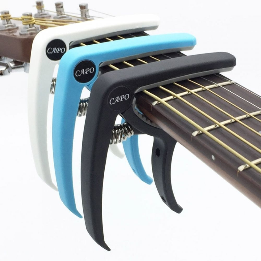 Plastic Guitar Capo With Clamp System For Acoustic Guitar Change Tone Quickly Guitar Tuning Guitar Capo Electric Guitar Capo