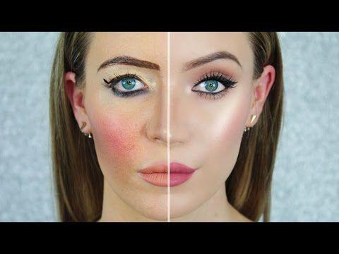 Woman Splits Her Face In Two Using These Makeups What She Reveals Is Beyond Incredible Newslinq Makeup Auftragen Richtig Schminken Schonheitshacks