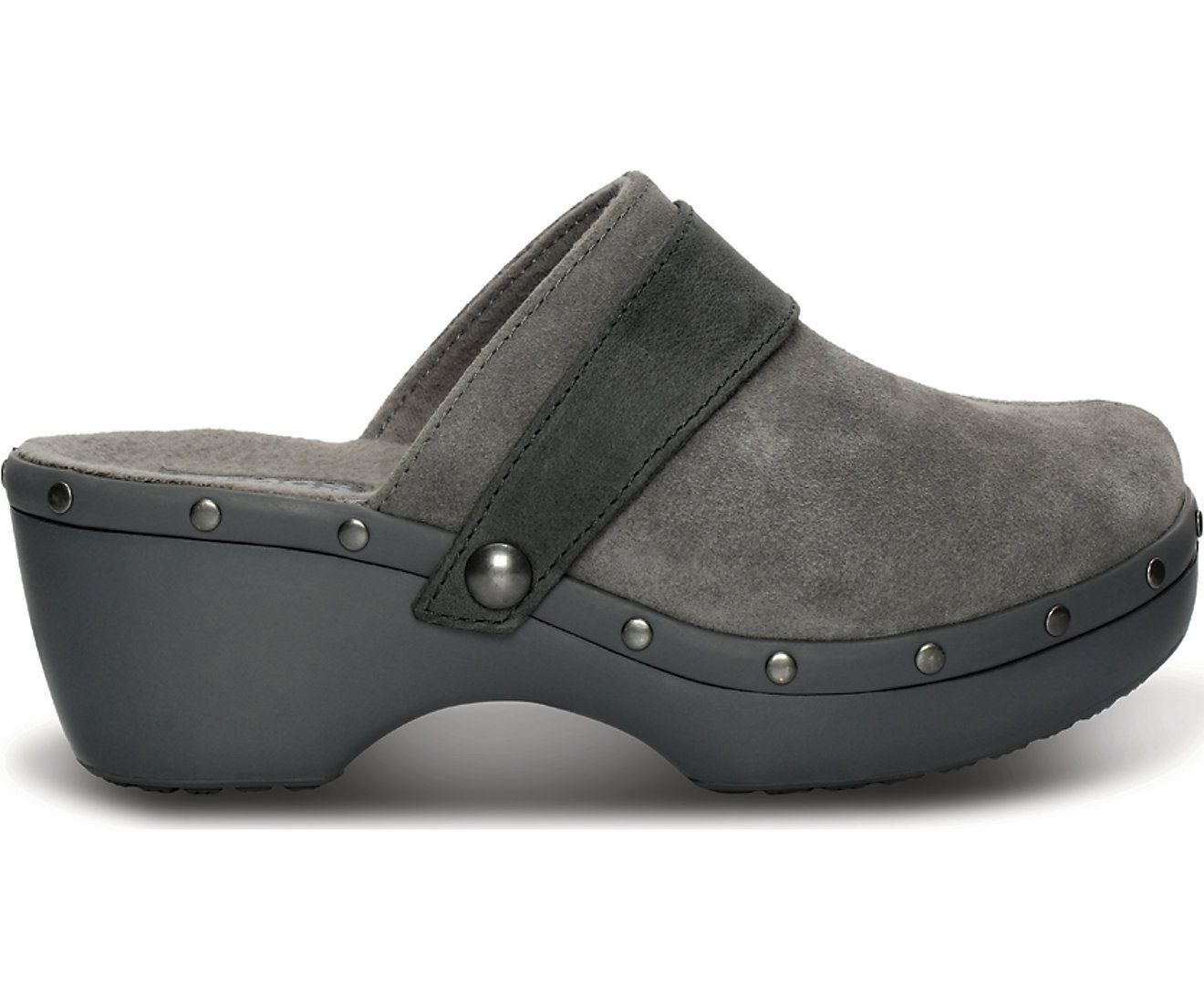 37e0520f0 Women s Crocs Cobbler Studded Leather Clog