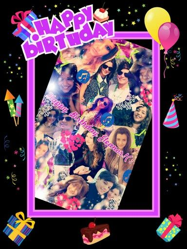 Happy Birthday to the amazing and gorgeous Eleanor! And guys, please don't hate her she doesn't deserve it and it's her birthday! She needs to know people love her! (And btw, this is my edit so please give me credit! ) (: <3