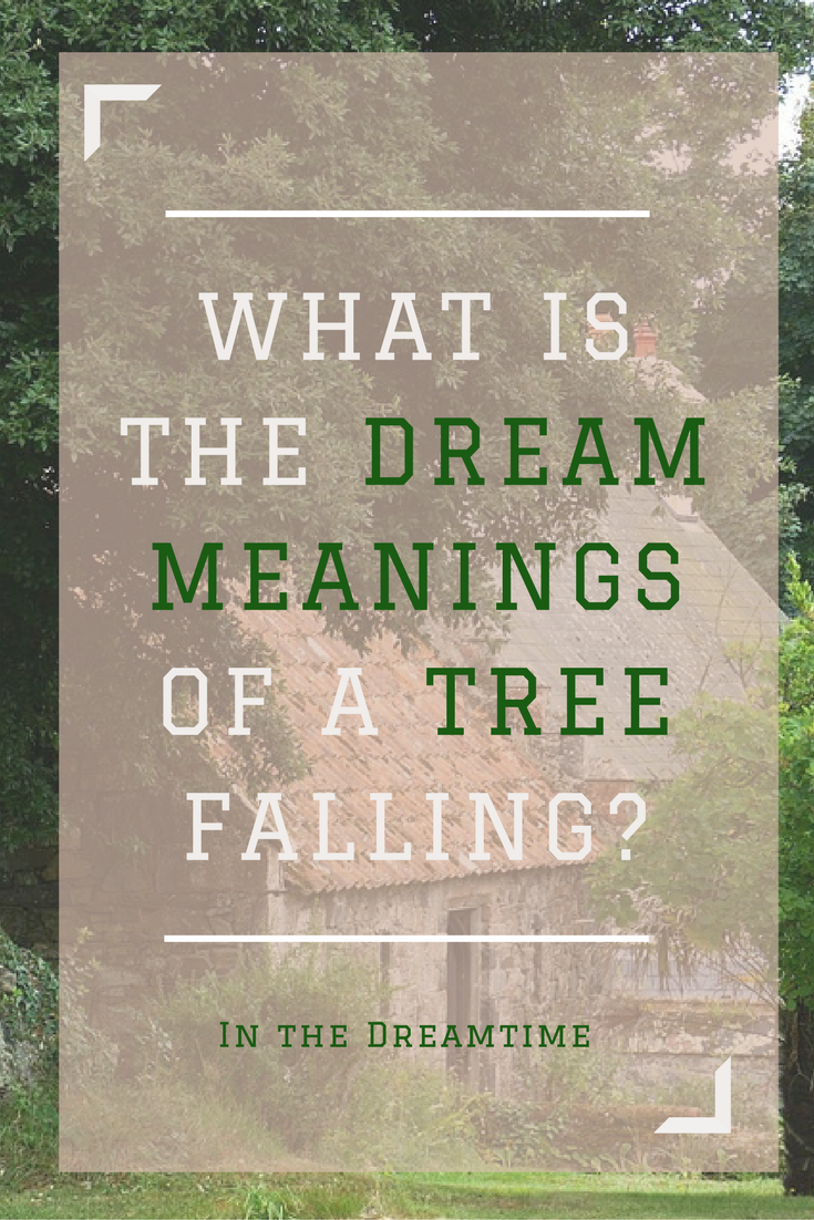 What Is The Dream Meanings Of A Tree Falling Upon You And Being