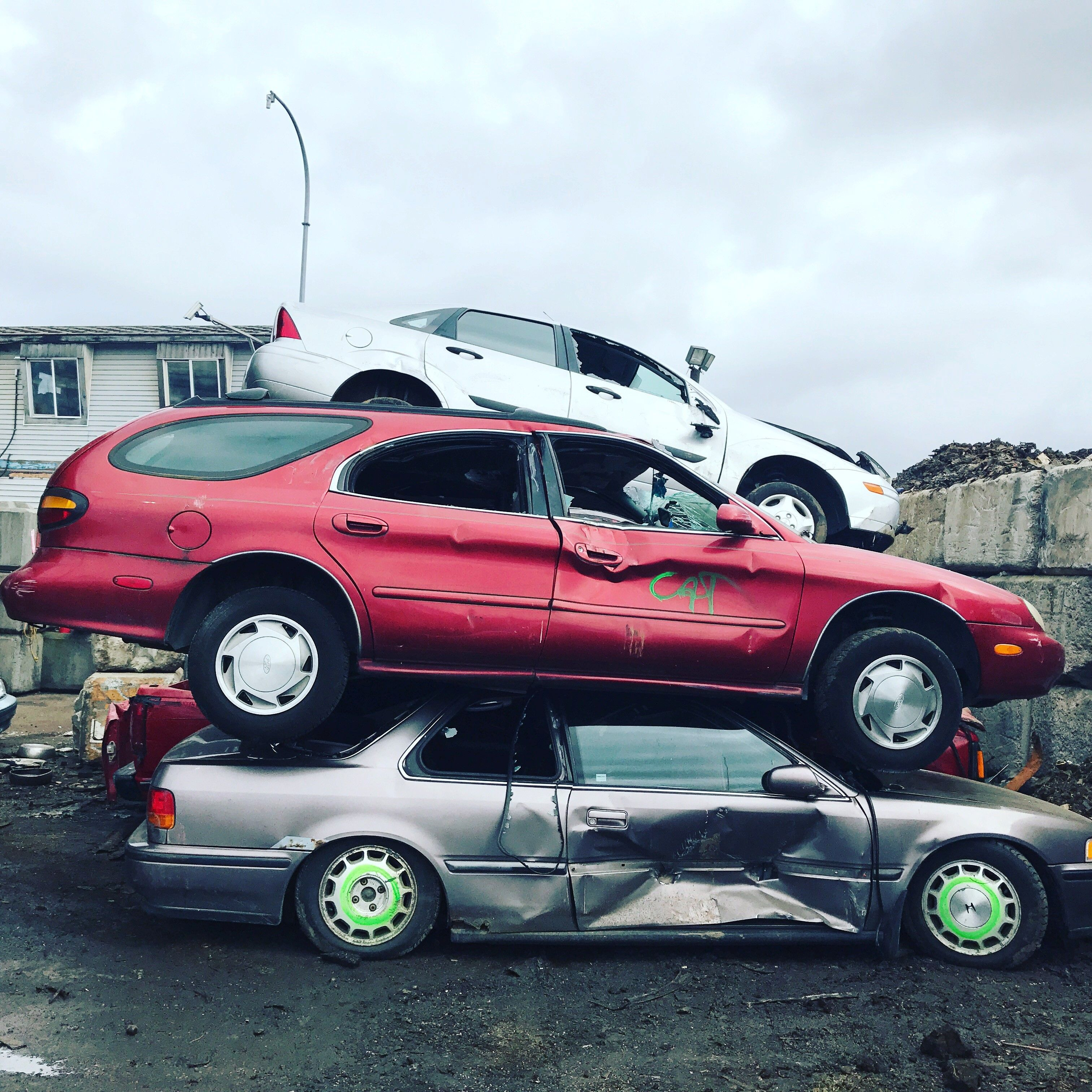 CASH FOR JUNK CARS! Do you have a scrap car taking up space in your ...